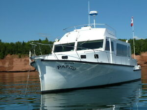 Beautiful renovated trawler