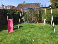 Swing Set & Slide