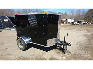 Remorque Fermée 4X6+ V-NOSE Cargo enclosed trailer