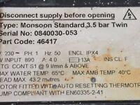 stuart turner monsoon 3.5 bar twin pump