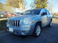 2007 JEEP COMPASS SUV**AUTO**A/C**AUX**READY TO GO!