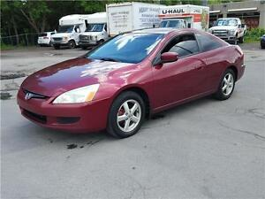 2005 HONDA ACCORD  COUPE EX-L ------CUIR*TOIT*MAGS