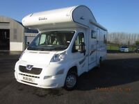 2010 ELDDIS AUTOQUEST 180 6 BERTH MOTORHOME WITH ONLY 36K MILES ANDERSON CARAVAN AND MOTORHOME SALES