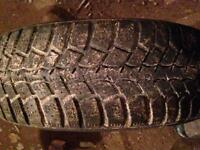 Four 195-60-15 Marshal Winter Tires!!