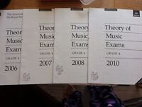 NEW Grade 4, Grade 3, Music Theory Past Papers - 4 papers for each grades
