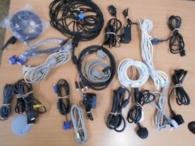 Box of Leads, chargers etc (used) - £12