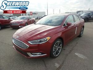 2017 Ford Fusion Titanium w/ Moonroof, Lane Keeping System