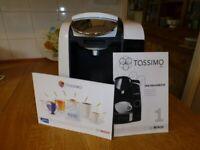 A Bosch Tassimo coffee machine.