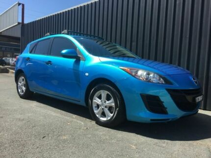 2009 Mazda 3 BL Neo Blue 5 Speed Automatic Hatchback Phillip Woden Valley Preview