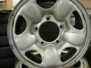 15'' SUZUKI 4X4 OR TRAKER 4X4 STEEL RALLY WHEELS X4 West Island Greater Montréal image 3