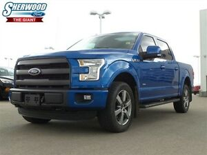 2015 Ford F-150 Blind Spot Monitoring, AC/Heat Seats, Navigation