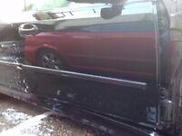 Saab drivers side door. Saloon 2006 (black)