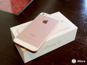 MINT IN CONDITION IPHONE SE 64GB ROSE GOLD 3 MONTHS WARRANTY $299