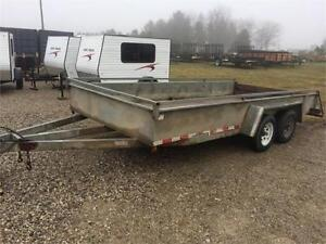 Used Galvanized Tandem axle Car Hauler