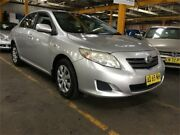 2007 Toyota Corolla ZRE152R Ascent Silver 4 Speed Automatic Sedan Hamilton North Newcastle Area Preview