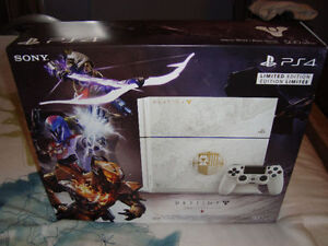 PS4 DESTINY TAKEN KING LIMITED EDITION FACTORY SEALED BRAND NEW