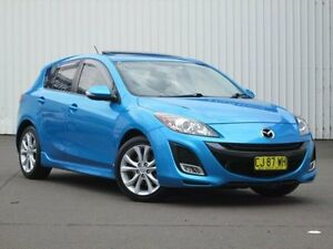 2009 Mazda 3 BL10L1 SP25 Blue 6 Speed Manual Hatchback Kings Park Blacktown Area Preview