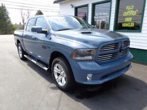 2015 Ram 1500 Sport Crew 4x4 Ceramic Blue Package