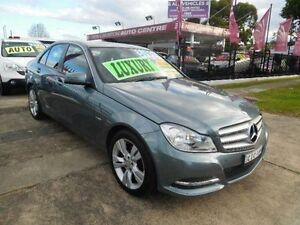 2011 Mercedes-Benz C200 W204 MY10 Upgrade CGI Grey 5 Speed Auto Tipshift Sedan New Lambton Newcastle Area Preview
