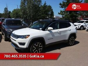 2017 Jeep Compass Limited; LOADED, PANORAMIC SUNROOF, LEATHER, A