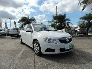2012 Holden Cruze JH Series II MY12 CD White 6 Speed Sports Automatic Sedan Caboolture Caboolture Area Preview