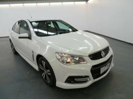 2015 Holden Commodore VF MY15 SV6 Storm Heron White 6 Speed Automatic Sedan