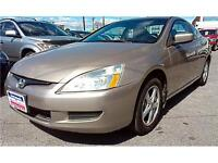 2003 Honda Accord Coupe EX LEATHER, S-ROOF, AUTO, 4cyl, A-RIMS City of Toronto Toronto (GTA) Preview