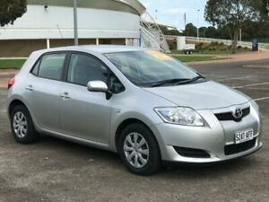 2009 Toyota Corolla ZRE152R Ascent Silver 6 Speed Manual Hatchback Gepps Cross Port Adelaide Area Preview