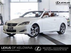 2012 Lexus IS 250C Hard Top Convertible w/Navigation