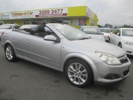 2007 Holden Astra AH MY07.5 Twin TOP Silver 4 Speed Automatic Convertible Kedron Brisbane North East Preview