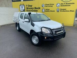2016 Isuzu D-MAX MY15.5 SX Crew Cab White 5 Speed Sports Automatic Cab Chassis Invermay Launceston Area Preview