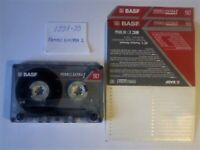 9x 1991-2000 BASF CASSETTE TAPES FE I, CHROME SUPER II, TRANSCO TRII, SOUND I, SOUND LEVEL II CHROME