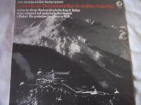 LP Vinyl LP Where Eagles Dare Soundtrack By Ron Goodwin