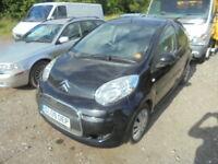 Citroen C1 HDI VTR, CAT S REPAIRED (black) 2009