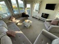 used 6 berth static caravan for sale at trecco bay near the beach
