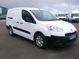 Peugeot Partner L2 716 S 1.6 HDI 92 BHP CREW VAN. AIR CON DIESEL MANUAL (2015)