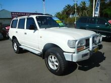 1993 Toyota Landcruiser GXL (4x4) White 5 Speed Manual 4x4 Wagon Waratah Newcastle Area Preview