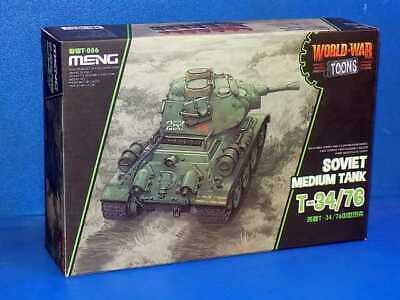 Meng Model na WWT-006 T-34/76 - World War Toon