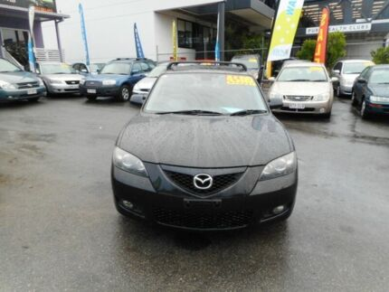 2006 Mazda 3 BK Maxx Sport Black 5 Speed Manual Sedan Greenslopes Brisbane South West Preview
