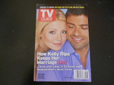 Kelly Ripa  Mark Consuelos  Tv Guide Magazine 2003