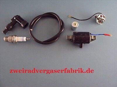 Reparaturset Zündung Zündanlage mit Zündspule Hercules Prima 2 3 4 5 Mofa