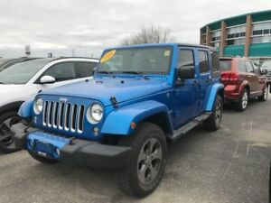 2016 Jeep Wrangler Unlimited Sahara from *$305 b/w