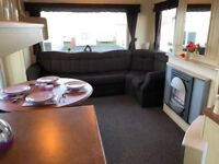 2 BED STATIC CARAVAN, AMAZING SEA VIEWS, PET FRIENDLY SITE. 2018 SITE FEES INCLUDED