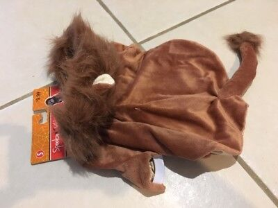 NEW! LION Halloween DOG COSTUME S Small PET CLOTHES Wizard of Oz KING