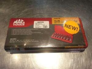 Mac tools metric speed hex bit set. We sell used tools. 40821(M)
