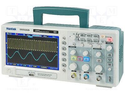 Circuit Specialist Hantek Dso5202b 200mhz 2channel Digital Storage Oscilloscope