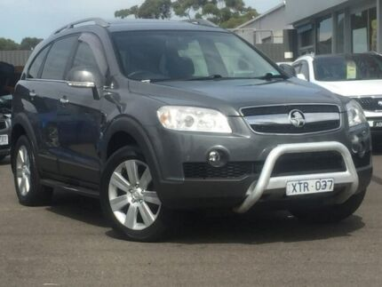 2010 Holden Captiva Grey Sports Automatic Wagon Hoppers Crossing Wyndham Area Preview