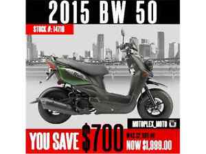 2015 Yamaha BW50 @ Blowout Pricing