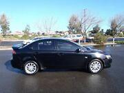 2011 Mitsubishi Lancer CJ MY11 SX Black 5 Speed Manual Sedan Albert Park Charles Sturt Area Preview