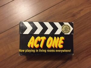 Act One Board game
